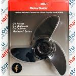 Винт гребной для электромотора MotorGuide MACHETE3 (PROP KT-BLK@4)