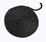 """Полипропиленовый канат якорный буксирно-швартовный Attwood двойное плетение черный 3/8"""" 4.5м"""