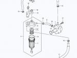 Фильтр топливный SUZUKI DF100/140A