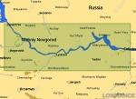 КАРТА C-MAP Река Волга: Нижний Новгород - Чебоксары