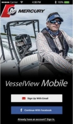 Комплект Mercury Vessel View Mobile