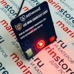 Светодиодные огонь Attwood мини-кнопка красный